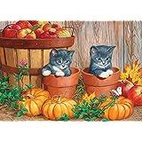Cobble Hill Little Pumpkins (Tray Puzzle)