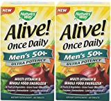 Cheap Nature's Way Alive Once Daily Men's 50+ Ultra Potency Tablets, 60 (2 Pack)