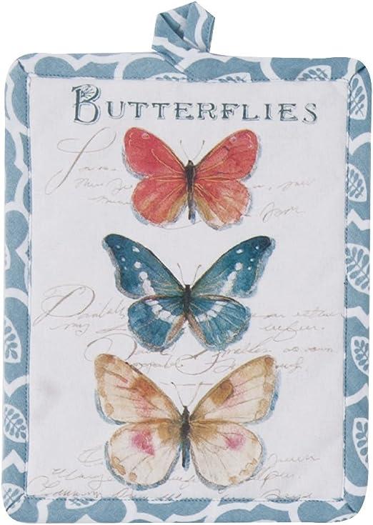 Papillons-Pot Set Kay Dee Butterfly Garden Pattern