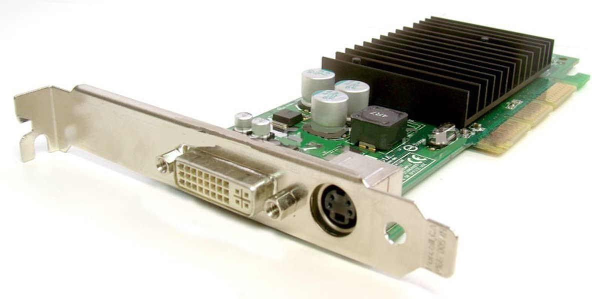 Genuine Dell Nvidia GeForce 4 64MB P117 DVI/TV Out 64MB MX 440 4x, 8x AGP Low Profile Compatible Video Graphics Card Compatible Part Numbers: G0169, G0770