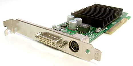 Genuine Dell nVidia GeForce 4 64 MB P117 DVI/TV out 64 MB MX ...