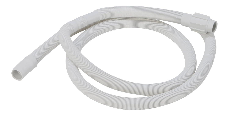 DREHFLEX/® Manguera de salida // manguera de desag/üe para lavavajillas de Bauknecht // Whirlpool // Ignis // Ikea etc compatible con 481253029113