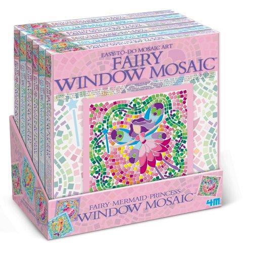 Fairy Tale Window Mosaic Art Kit (Styles May Vary) - Fairy Tale Window