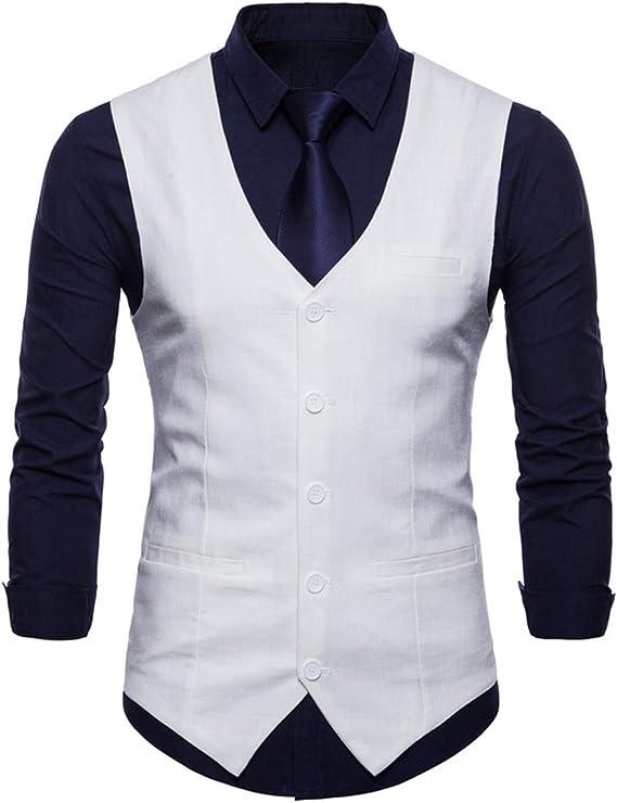 Amazon.com: Para hombre Casual Slim Fit elegante traje 6 ...