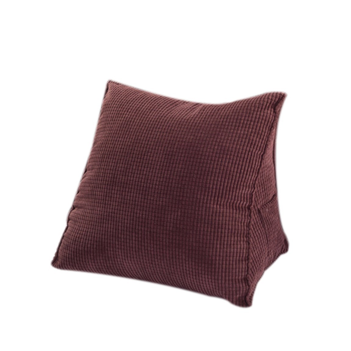 Corduroy bed rest pillow - Cecilia Triangle Cushion Pillow Thick Corduroy Triangle Pillow Back Wedge Cushion Sofa Bed Rest Cushion Back
