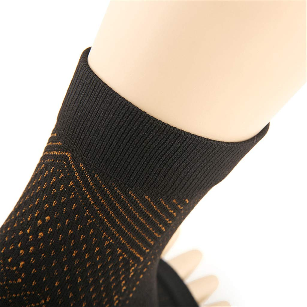 nero A, L//XL Vita-Wear Rame infuso Magnetico Supporto a compressione Compressione Qualit/à originale