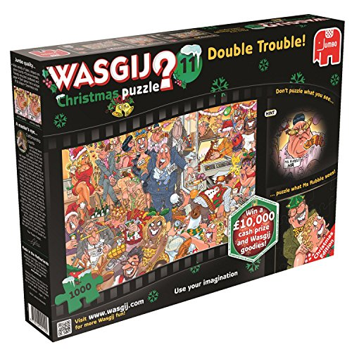 Wasgij Double Trouble Christmas Jigsaw Puzzle