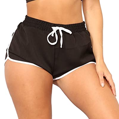Vicktleb Athletic Workout Gym Yoga Running Fitness Sports Shorts for Women Lounge Short Pants: Clothing