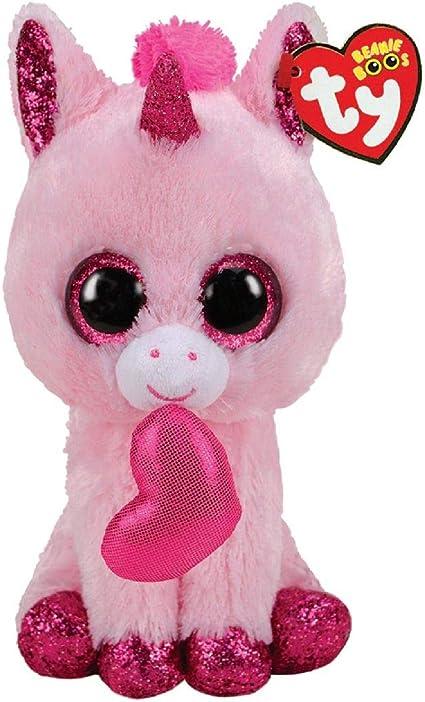 Ty- Beanie Boos-Darling la Unicornio, 15 cm, TY36685, Multicolor: Amazon.es: Juguetes y juegos