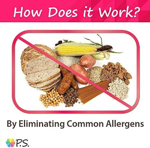 PS para perros 100% hipoalergénico comida para perro–No más lamerse y rascarse la piel–resuelve las alergias naturalmente–No más tragos perjudiciales, pastillas y caros alimentos recetados 5