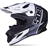 509 Altitude Carbon Fiber Trace Snowmobile Helmet Open Face - Lightweight - Camera Mount (X