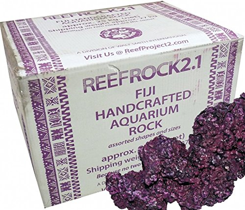 Live Saltwater - Walt Smith 2.1 Reef Rock For Saltwater Aquariums! Pest Free! (Appx. 55lbs)