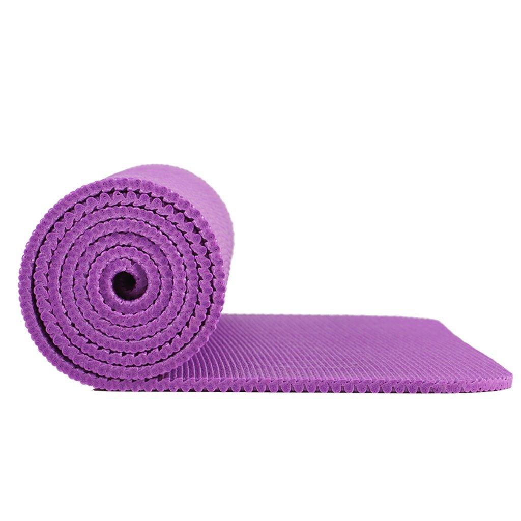 AILI Anti-Rutsch-Fitness-Yoga-Matte, Pilates tragbare 8mm Trainingsmatte