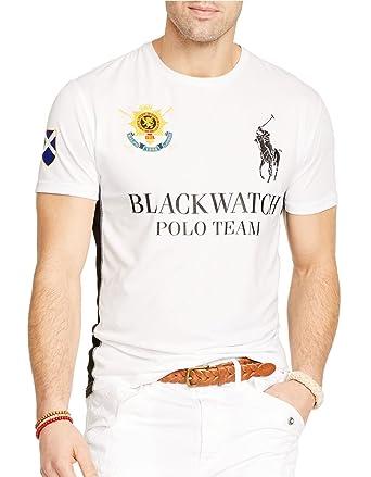 Polo Ralph Lauren Black Watch Performance Jersey Crew-Neck T-Shirt (L)
