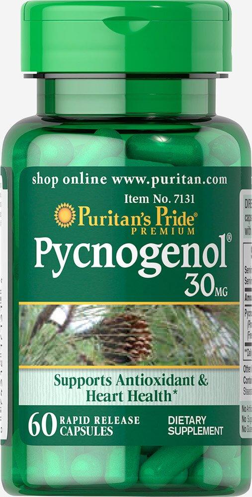 Puritan's Pride Pycnogenol 30 mg-60 Capsules