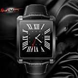 """Smart Watch, LEMFO LF20 Bluetooth Mens Smart Watches 1.54"""" IPS Screen MTK2502 Heart Rate Monitor SmartWatch for iPhone Android Phone"""