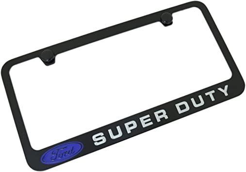 Inc.Black Fill License Plate Frame for Ford SVT Elite Automotive Products Red