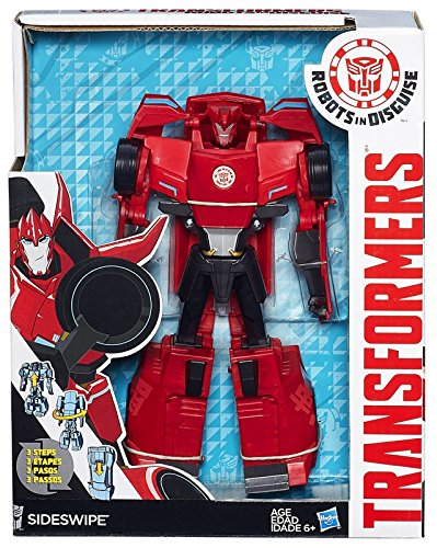 Transformers Robots in Disguise 3-Step Changers Sideswipe -