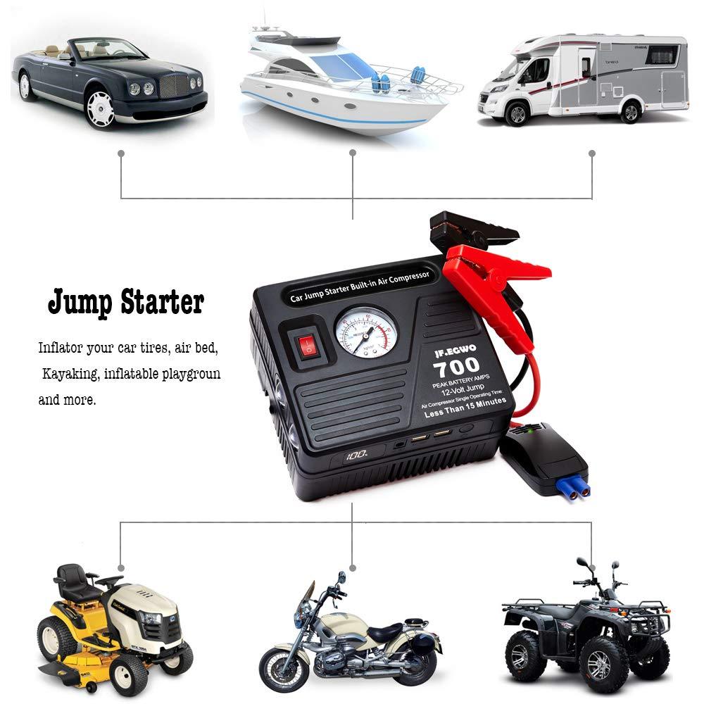 Amazon.com: Jfegwo - Arrancador portátil, S: Automotive