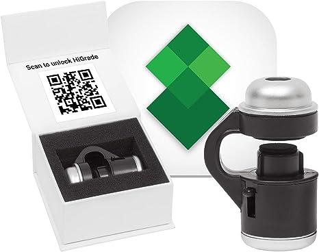 HiGrade Scope Kit 30x LED Microscopio para Smartphone con luz y ...