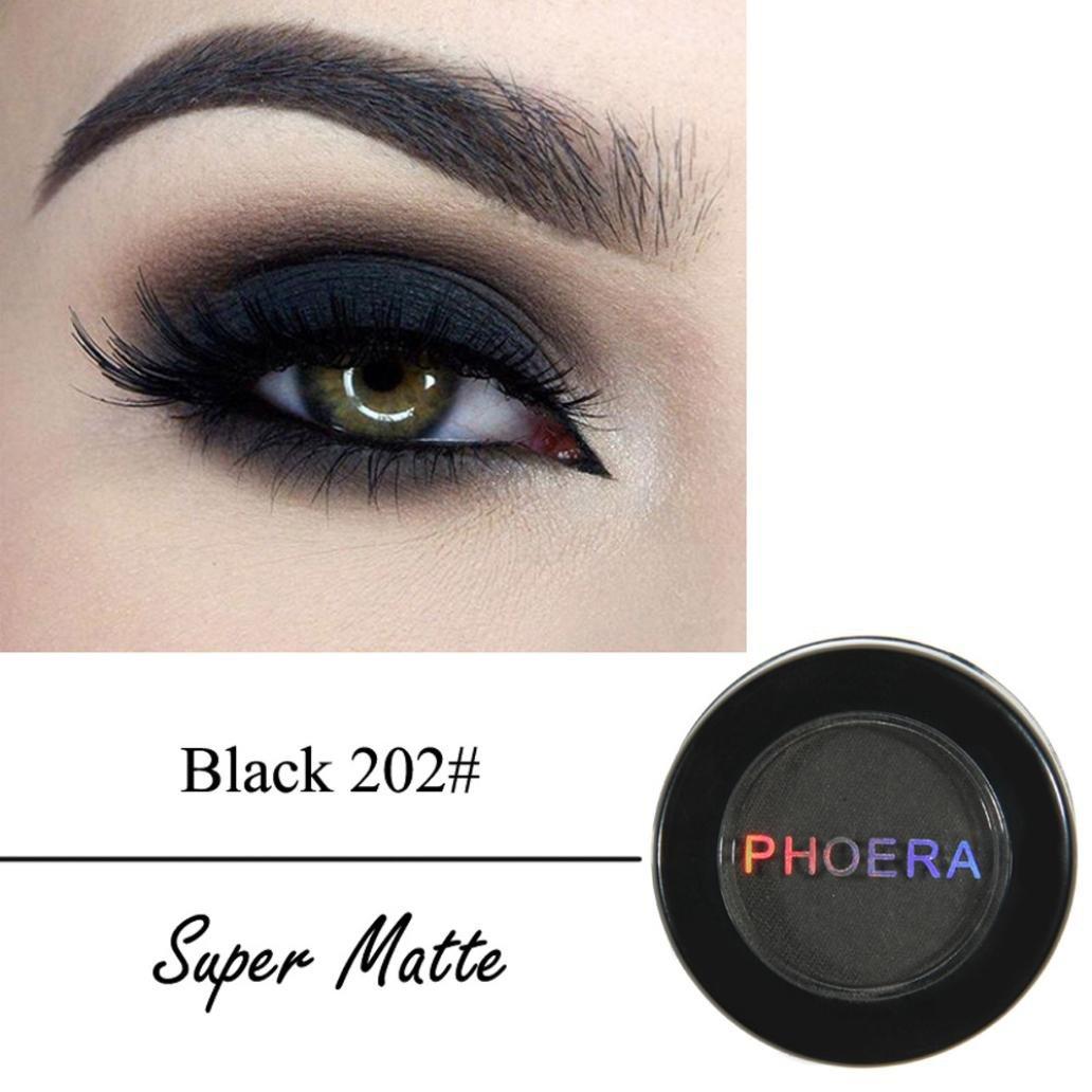 Amazon Honhui Phoera Cosmetic Super Matte Eyeshadow Cream Eye