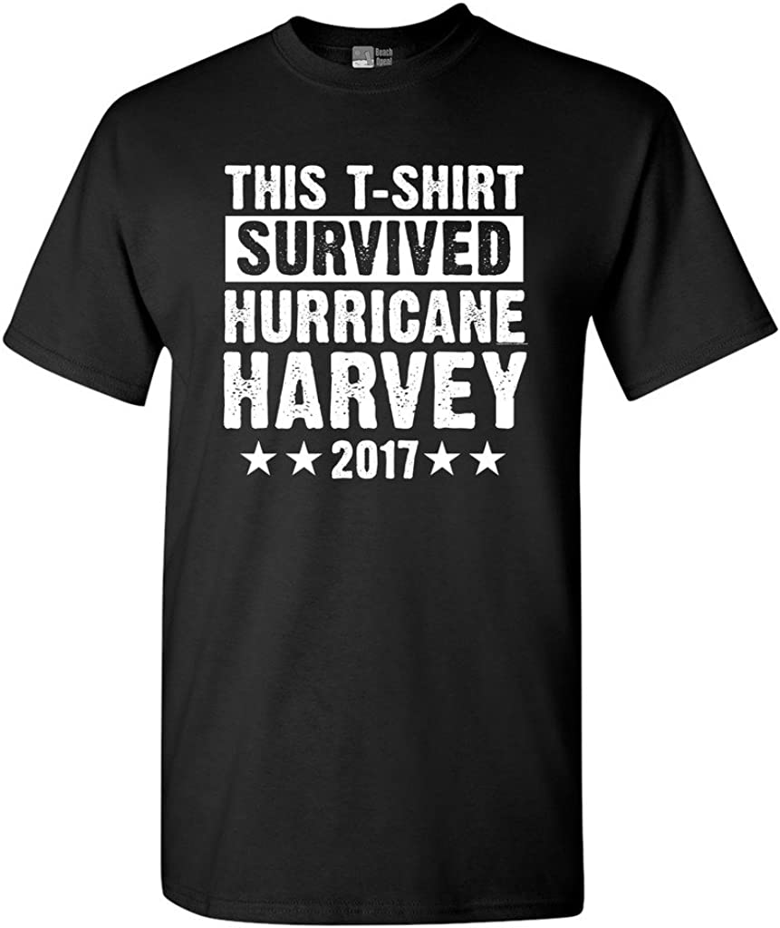 This T-Shirt Survived Hurricane Harvey Houston Texas 2017 DT Adult T-Shirt Tee