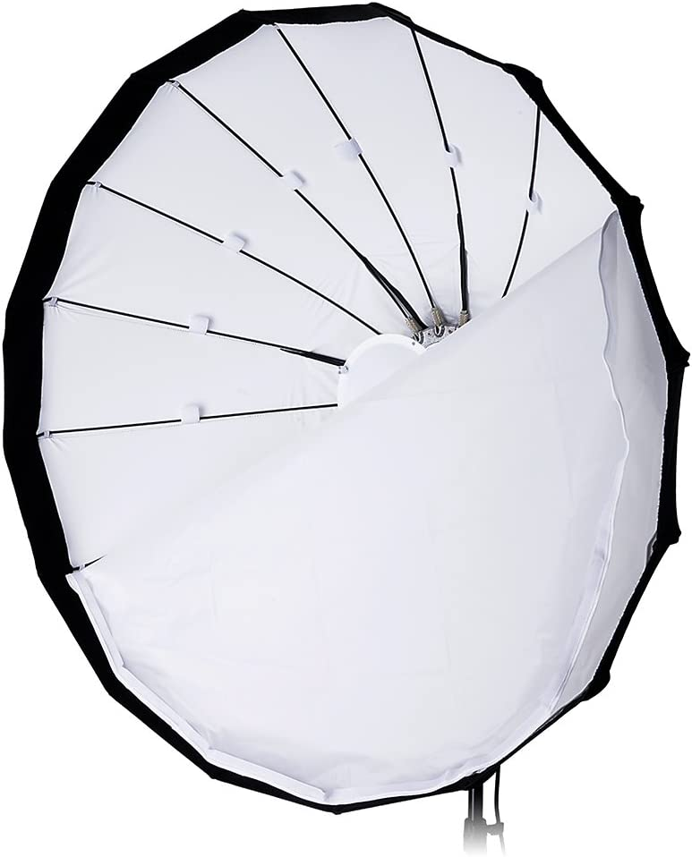 Flash and Monolights Pro Studio Solutions EZ-Pro 40in 100cm Soft Collapsible Beauty Dish with Speedring for Bayonet Mountable Strobe Beauty Dish and Softbox Combination w//Profoto Speedring