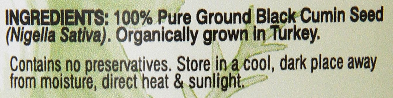 Amazing Herbs Black Seed Ground Seed, 16 Ounce
