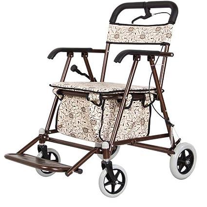 Carritos de la compra Walker rollator / andador / walker rollator para mayores shopping / trolley