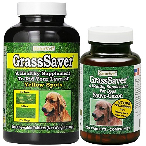 NaturVet GrassSaver 500 Tablets by (Grasssaver Tablets)