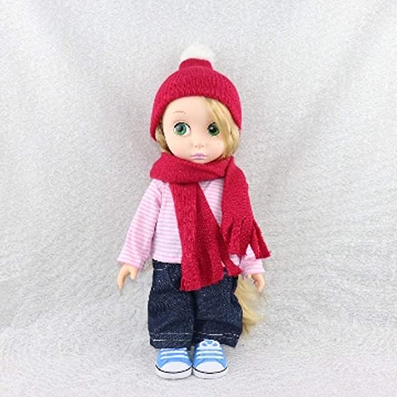 16inch Dolls Cute Knitted Scarf Hat Clothes for Sharon Dolls My Life Dolls