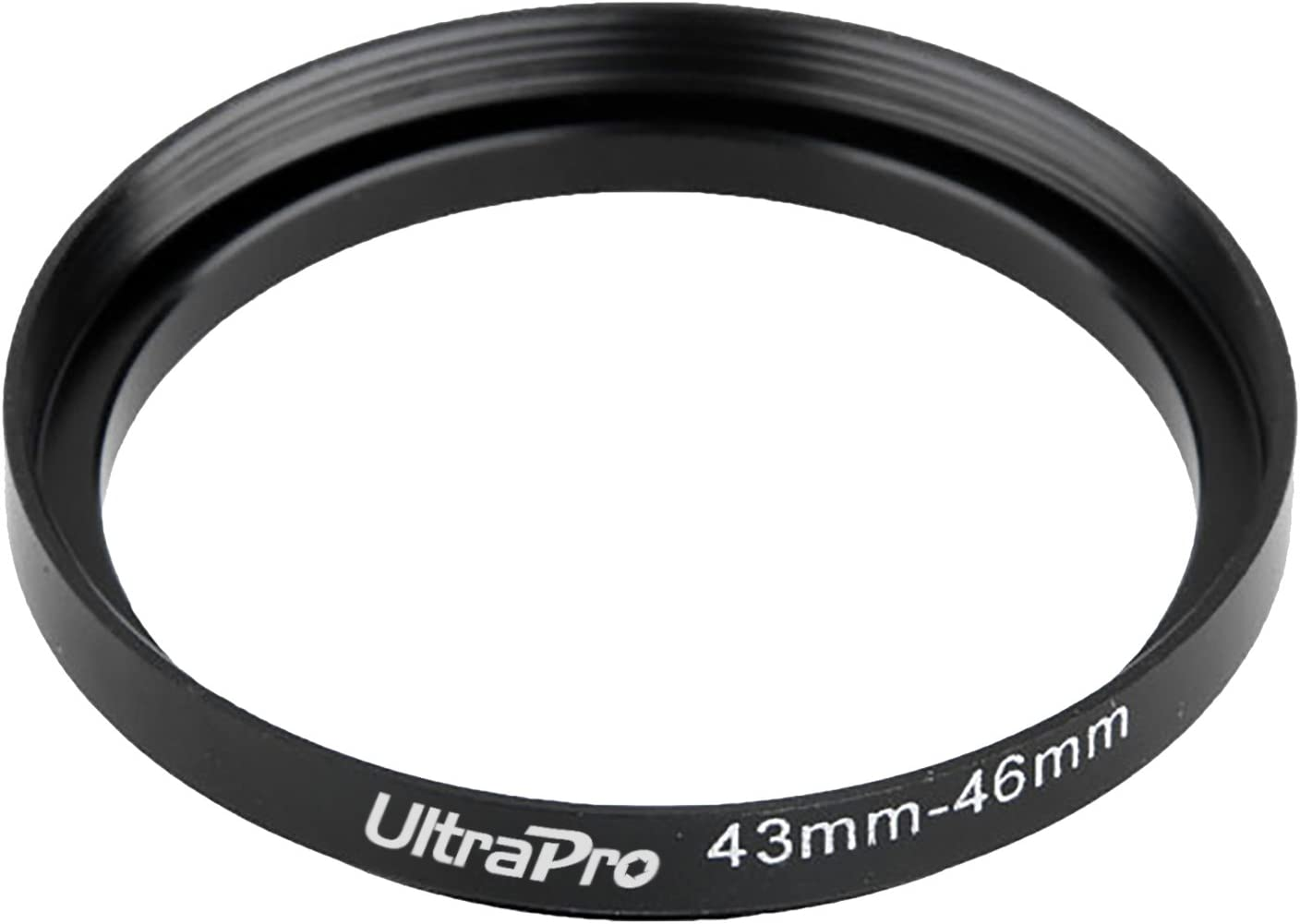 UltraPro Step-Up Adapter Ring 43mm Lens to 58mm Filter Size