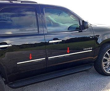 2007-2014 Chevrolet Suburban Tahoe Chrome Door Handles Covers 4 Doors