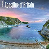 Coastline of Britain 2018 12 x 12 Inch Monthly Square Wall Calendar, UK United Kingdom Ocean Sea Scenic Nature