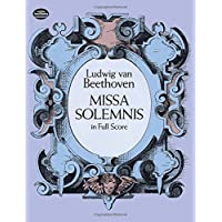 Missa Solemnis in Full Score (Dover Vocal Scores)