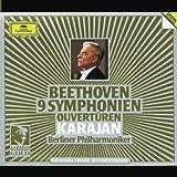 Beethoven: 9 Symphonies / Overtures ~ Karajan