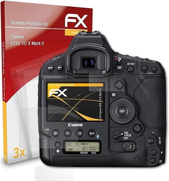 Atfolix Panzerfolie Kompatibel Mit Canon Eos 1d X Mark Kamera