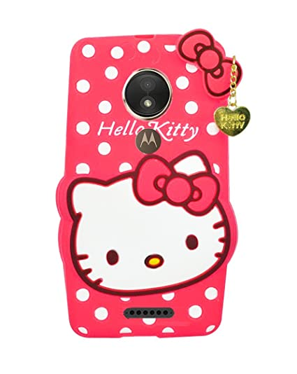 8a79252e2 Woozy 3D Designer Cute Hello Kitty Back Cover For: Amazon.in ...