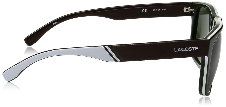 b96b11c0091 Lacoste Men s L826s Rectangular Sunglasses