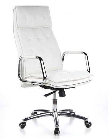 Bürostuhl designklassiker  hjh OFFICE 600922 Bürostuhl Chefsessel VILLA 20 Nappaleder ...