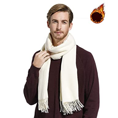 Écharpe en cachemire Châle Pashmina foulard Femme Homme, Longug,  Chaleureux, grande 80   3301ec3d5ab