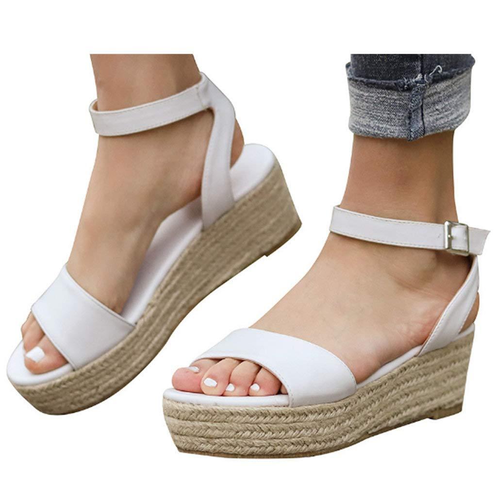 Gyouanime Sandals DRESS レディース B07QB2YZ9D ホワイト US:5