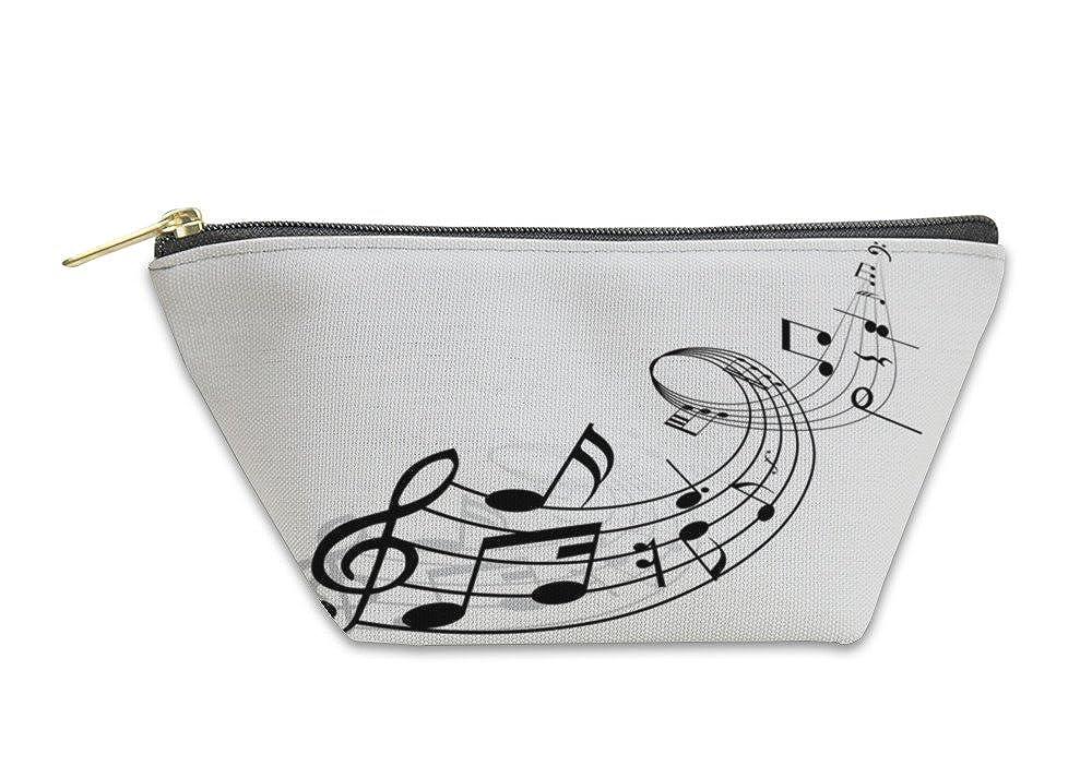 Musical Notes Gear New Accessory Zipper Pouch 6064891GN
