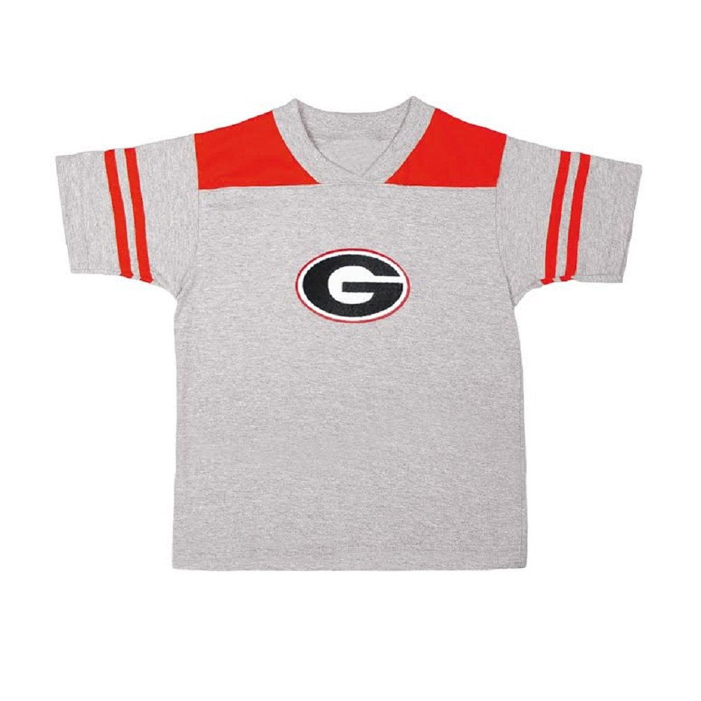 Toddler Boys Georgia Bulldogs Football Tee Shirt