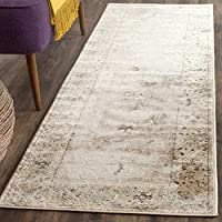 Safavieh Vintage Collection VTG433D Transitional Oriental Light Grey and Ivory Distressed Runner (22 x 72)