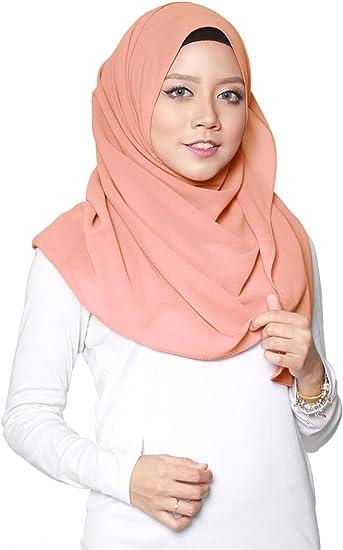 Kopftuch Kopfbedeckung Hijab Tuch islam Muslim rosa