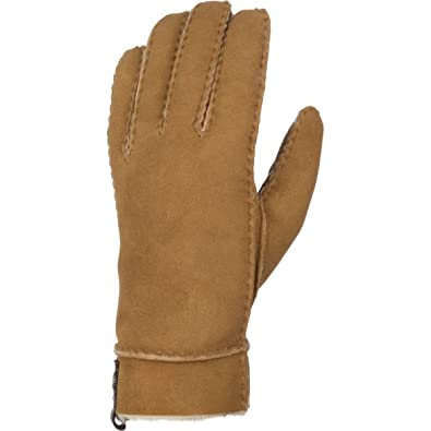3ba2de58e UGG Sheepskin Tenney Glove Women | Black (16272) - Brown - Large ...