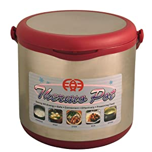 Sunpentown ST-60B Stainless-Steel Non-Electric 6-Liter Thermal Cooker