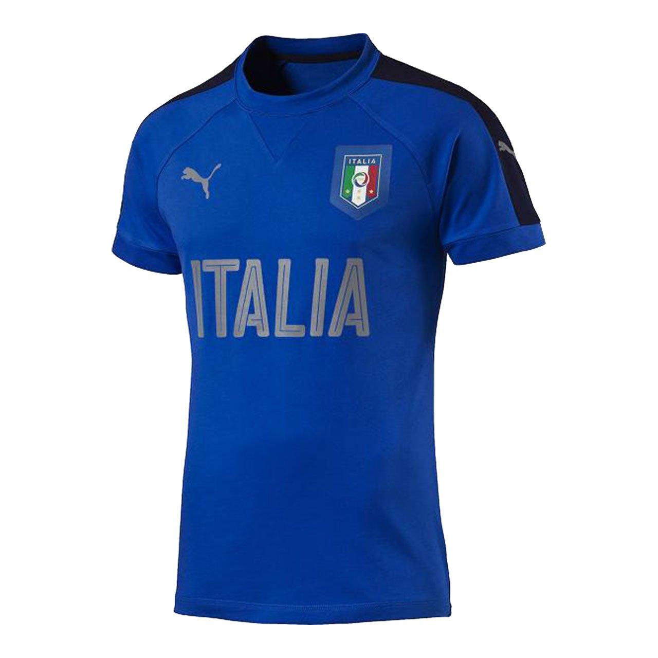 Puma Herren FIGC Italia Casual Performance T-Shirt