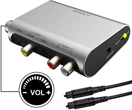 Avantree DAC02 DAC Convertidor Audio Digital Analógico, Conversor ...